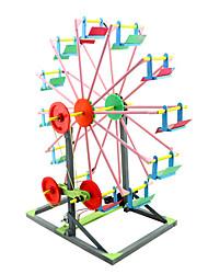 Недорогие -Игрушки для изучения и экспериментов Игрушки Цилиндрическая Колесо обозрения Своими руками Мальчики Девочки Куски