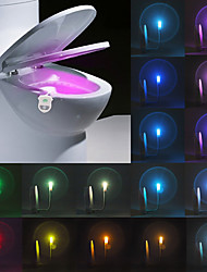 cheap -YWXLight® IP65 16 Colors Motion Activated Toilet Night light Bathroom Night Light Easy Clean