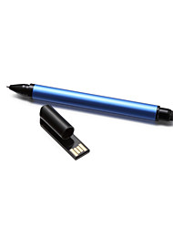 Multi-fonction business pen usb flash drive& style& Stylo à bille (bleu) 16gb