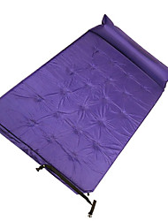 Inflated Mat Camping Pad Sleeping Pad Picnic Pad Camping Pillow Air Mattress Camp BedKeep Warm Heat Insulation Moistureproof/Moisture