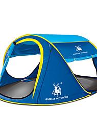 preiswerte -GAZELLE OUTDOORS 3-4 Personen Zelte & Planen Einzeln Camping Zelt Einzimmer Zwei Zimmer Drei Zimmer Pop-up-Zelt Wasserdicht