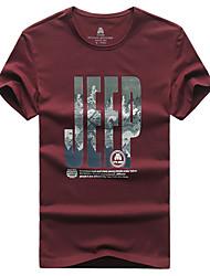 Per uomo T-shirt da escursione Asciugatura rapida Traspirante T-shirt Top per Pesca Estate L XL XXL XXXL XXXXL