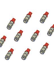 abordables -10pcs t10 9 * 5050 smd llevó la luz dc12v del bule de la bombilla del coche