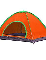 economico -2 persone Tenda Singolo Tenda da campeggio Una camera Tende da campeggio formato famiglia Ompermeabile Resistente ai raggi UV Anti-pioggia