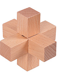 cheap -Jigsaw Puzzles Luban Lock Building Blocks DIY Toys Wood Novelty & Gag Toys