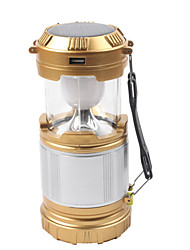 cheap -Lanterns & Tent Lights LED 850 lm 1 with Charger Waterproof Gold Camping / Hiking / Caving