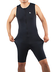 Tri Suit Men's Sleeveless Bike Triathlon/Tri Suit Breathable Comfortable Full Body Spandex Chinlon Solid Spring Summer Winter Fall/Autumn