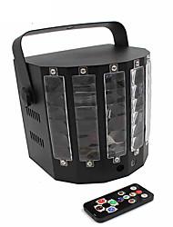 Недорогие -Светодиодные театральные лампы Волшебный светодиодный мяч Дисконтный клуб Party DJ Show Lumiere LED Crystal Light Лазерный проектор 18W -