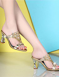 economico -Da donna-Sandali-Casual-Club Shoes-Quadrato-Cashmere-
