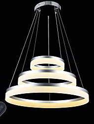 cheap -Circular Pendant Light Ambient Light - Dimmable, LED, Dimmable With Remote Control, 110-120V / 220-240V, Dimmable With Remote Control,
