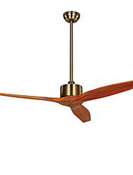 Ceiling Fan ,  Country Brass Feature for Designers Metal Study Room/Office Outdoors Garage