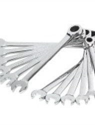 Steel Shield 12 Pieces Of Fine Polishing Spine Open Double Quick Wrench (Plastic Box) /1 Sets