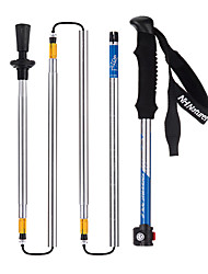 5 Nordic Walking Poles 135cm (53 Inches) Damping Foldable Light Weight Adjustable Fit Aluminum Alloy 7075Camping & Hiking Snowshoeing