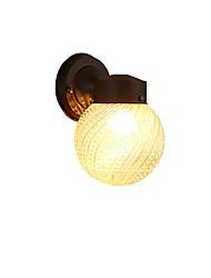 preiswerte -Modern / zeitgenössische schwarze Oxid-Finish-Funktion für Mini-Stil Glühbirne inclambient Licht Wandleuchter