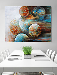 cheap -Stretched Canvas Print Abstract Modern, One Panel Canvas Horizontal Print Wall Decor Home Decoration