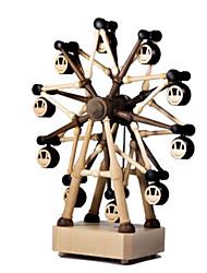 Недорогие -музыкальная шкатулка Игрушки Квадратный Дерево Куски Универсальные Подарок