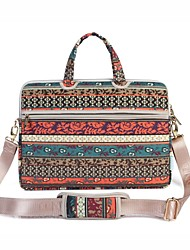 cheap -13.3 14.1 15.6 inch Retro Bohemian Style Laptop Shoulder Bag with Strap Hand Bag for Surface/Dell/HP/Samsung/Sony etc