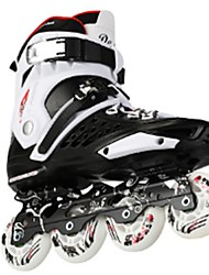 Men's Women's Adults' Inline Skates Wearable Wearproof Comfortable Gold/White