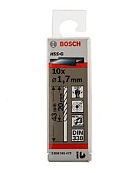 Bosch hss-g vysokorychlostní ocelový kruhový vrták g1.7mm / pag