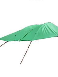 Недорогие -3-4 человека Световой тент Туристическое укрытие Двойная Палатка Однокомнатная Складной тент Водонепроницаемость С защитой от ветра