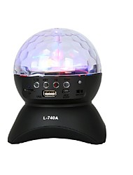 LED Stage Light Magic LED Light Ball Party Disco Club DJ Show Lumiere LED Crystal Light Laser Projector 9W - - -Bluetooth 1 (ON/OFF) Auto