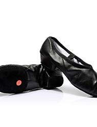 Maßfertigung-Blockabsatz-Leder-Tanz-Turnschuh-Damen