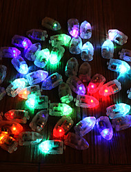 50Pcs/Set Led Rgb Flash Lamps Balloon Lights For Paper Lantern Balloon Light Multicolor White  Blue Yellow Wedding Decoration