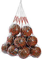 Soccer Equipment Bags Basketball Nylon Outdoor Practise Leisure Sports hold up 15balls Perfect mesh bag