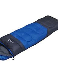 Schlafsack Rechteckiger Schlafsack Einzelbett(150 x 200 cm) -3-8 PolyesterX75 Wandern Camping Reisen warm halten Tragbar