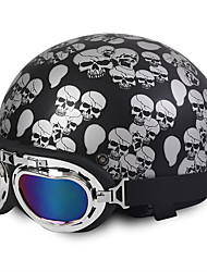 cheap -Half Helmet ABS Motorcycle Helmets
