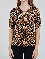 cheap -Women's Going out / Daily Casual / Street chic All Seasons Shirt