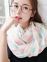 Outside Korea Cotton and Linen Retro Scarf Shawl Thin Long Rectangle Women's Beach UV Sunscreen Bohemia