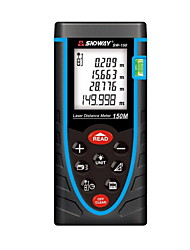 Sndway SW-150 Handheld Digital 150m 635nm Laser Distance Measurer (1.5V AAA Batteries)