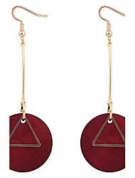 Dámské Visací náušnice Náušnice - Kruhy Šperky Základní design Jedinečný design Logo Visací Geometrický přátelství Gothic Retro Afrika