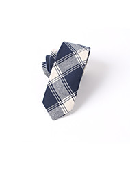Men's Party/Evening Korean casual cotton plaid business Necktie