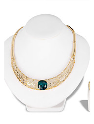 cheap -Women's Jewelry Set - Fashion, Euramerican Include Necklace Gold For Wedding Party Special Occasion / Anniversary / Birthday / Engagement / Gift / Daily