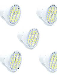 2.5W GU10 GX5.3 LED Spotlight MR16 48 SMD 2835 250-300 lm Warm White Cold White 2700-6500 K Decorative AC 220-240 V