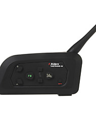 Недорогие -1шт футбольный арбитр селекторной гарнитура vnetphone V4C 1200m полный дуплекс Bluetooth домофонных с FM для 4 пользователей рефери