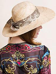 cheap -Basketwork Fabric Cotton Hats Headpiece Classical Feminine Style