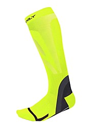 Bike/Cycling Socks Breathable Thermal / Warm Wearable Anti-skidding/Non-Skid/Antiskid Soft Compression Nylon Elastane LYCRA®Camping /