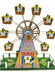 Недорогие -музыкальная шкатулка Игрушка с заводом колесо обозрения Игрушки Предметы интерьера Украшение стола Игрушки Колесо обозрения Металл