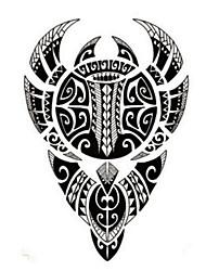 Недорогие -Временные тату Прочее Non Toxic WaterproofЖенский Мужской Подростки Вспышка татуировки Временные татуировки