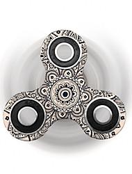 Fidget spinners Hilandero de mano Juguetes Tri-Spinner Plástico EDCAlivio del estrés y la ansiedad Juguetes de oficina Por matar el