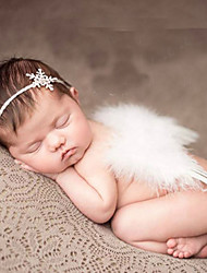 cheap -Newborn Baby's Modelling of the Angel  Photographic cloths Headwears