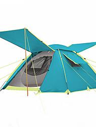 3-4 Personen Zelt Doppel Camping Zelt Einzimmer Automatisches Zelt Feuchtigkeitsundurchlässig Wasserdicht Regendicht Atmungsaktivität für