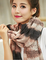 cheap -Korea Cotton and Linen Retro Scarf Shawl Thin Long Rectangle Women's Beach UV Sunscreen Bohemia