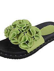 cheap -Women's Sandals Comfort First Walkers Light Soles PU Spring Summer Fall Casual Walking Comfort First Walkers Light SolesRhinestone