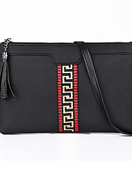 Women Bags All Seasons PU Clutch for Casual Green Black Red