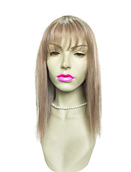 cheap -Top Quality Wig Blonde Long Straight Wig With Air Bangs Costume Fashion Wig