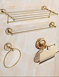 Недорогие -Набор аксессуаров для ванной / Золотой Старинный